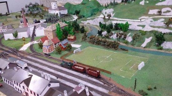 Rajecké Teplice, Eslovaquia: Modelová železnica