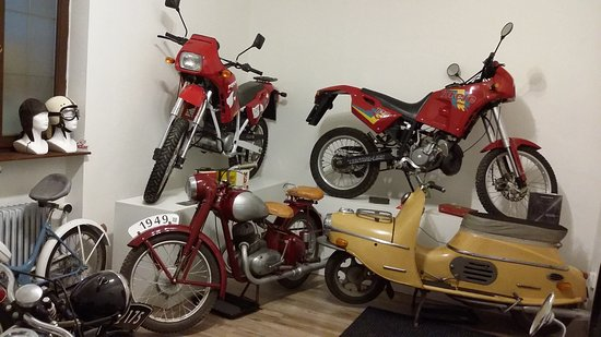 Museum of Transport: Motorky Penta