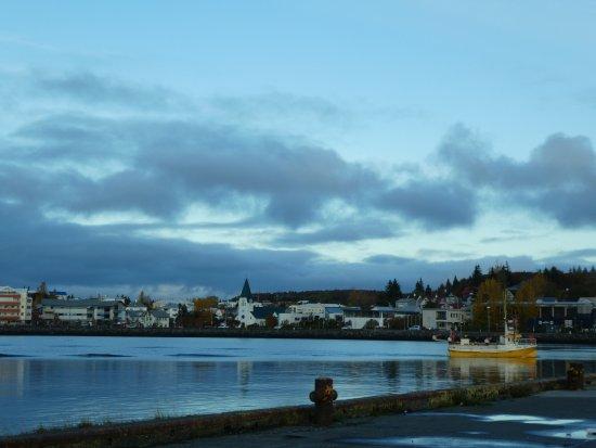Hafnarfjordur, Islandia: Hamna