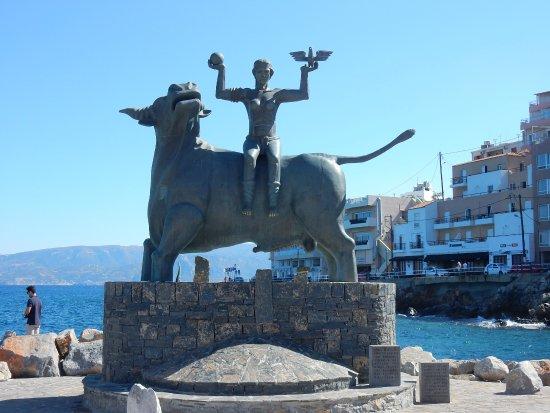 Europa-Statue