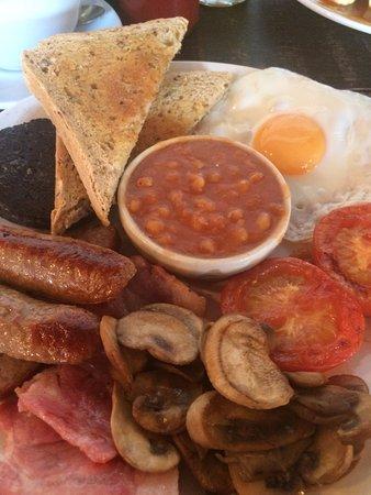 Radstock, UK: The Full English ( IRISH ) with Black Pudding