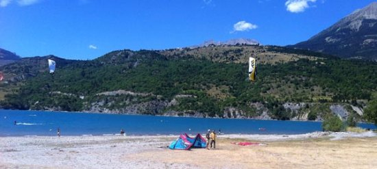 Savines-le-Lac, فرنسا: Lac de Serre-Ponçon