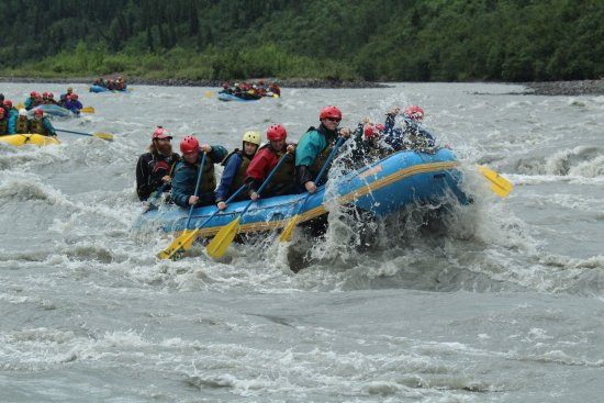 Denali Raft Adventures: Rapids ahead guys