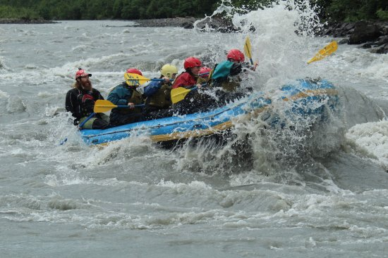 Denali Raft Adventures: You may come in contact with water