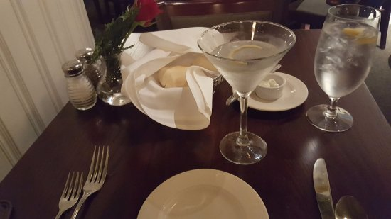 South Boston, VA: A fine dry martini