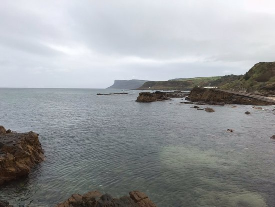‪‪Ballycastle‬, UK: View from the beach‬