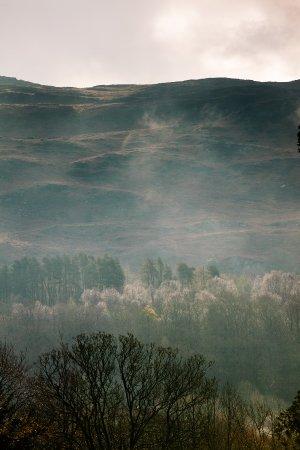 Eglwys Fach, UK: Mountain view