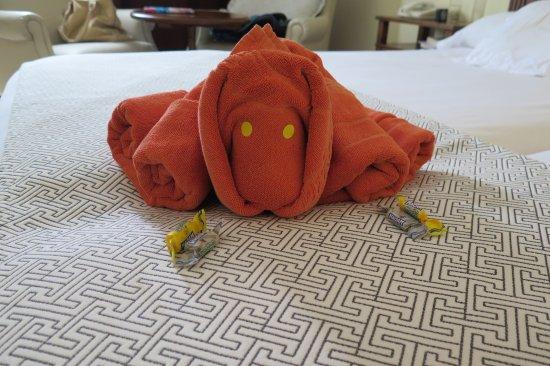 Towel Origami Picture Of Sbh Costa Calma Palace Costa Calma