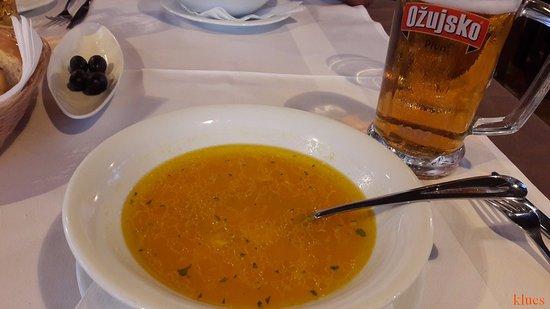 Сукошан, Хорватия: Fish soup