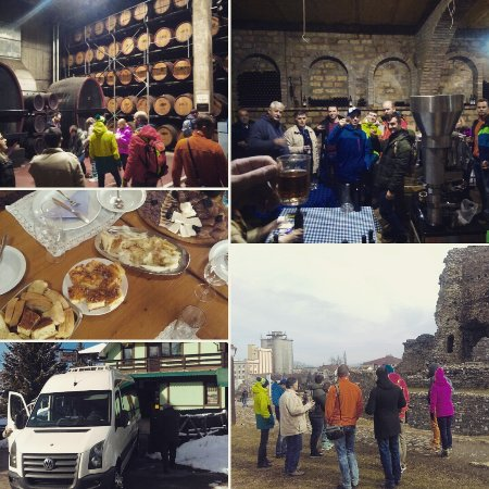 Kopaonik, Σερβία: Emperors wine route with guests from Russia