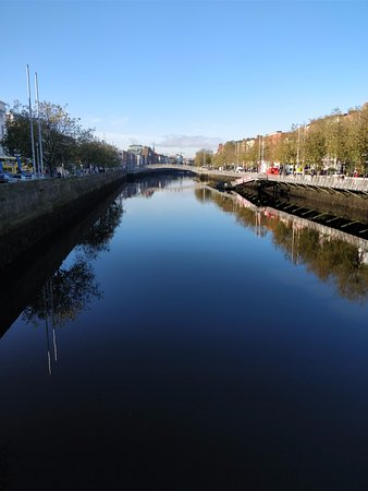 View from O'Connell Bridge