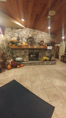 The Landing Resort: fire place