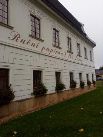Velke Losiny, República Checa: Budova papírny