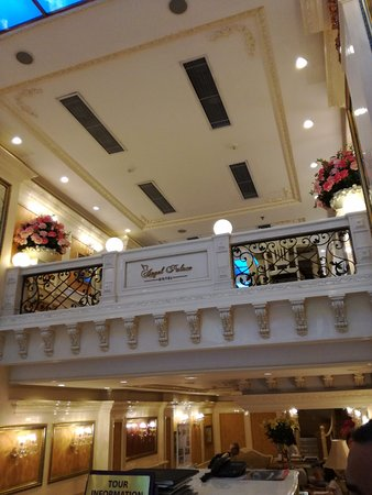 Angel Palace Hotel: Recepción