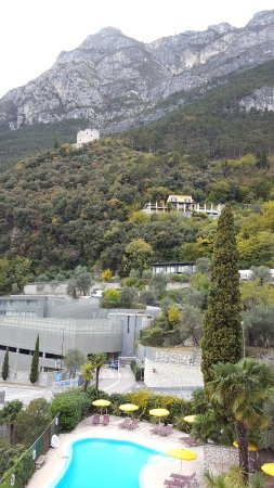 Hotel Villa Miravalle: Aussicht vom Zi 205