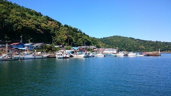 Omihachiman, اليابان: 沖島近在眼前