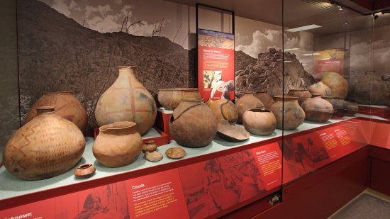 Ocotillo, CA: Our archaeological collections include a massive number of ancient pottery (ollas).