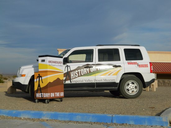 Ocotillo, CA: The Museum has a fleet of vehicles, used to take its History on the Go! program into local schoo