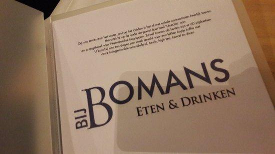 Heemstede, Nederländerna: Bij Bomans