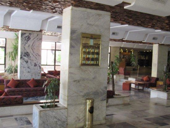 Eatabe Luxor Hotel: Lobby area