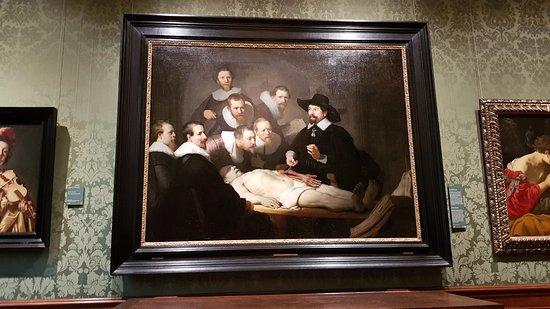 La lección de anatomía - Picture of The Mauritshuis Royal Picture ...