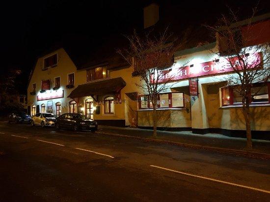The wonderful Merriman Hotel in idyllic Kinvarra.