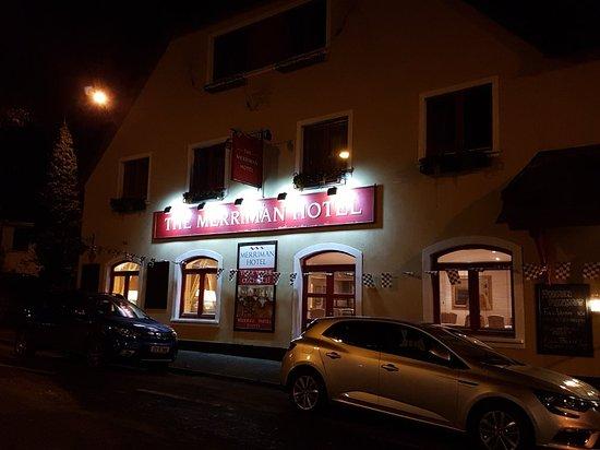 Kinvara, Irlanda: The wonderful Merriman Hotel in idyllic Kinvarra.