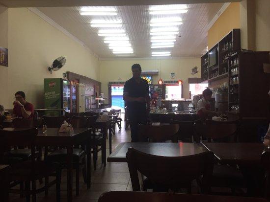 Jaguarão, RS: Vista do restaurante