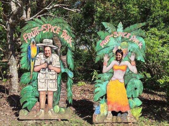 Fruit & Spice Park: Fruit and Spice park photo op