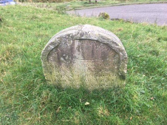 Lochgoilhead, UK: rest ye and be thankful marker