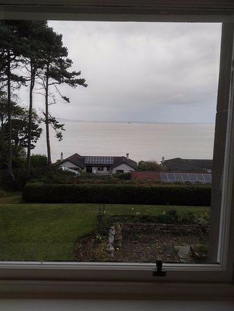 Invernairne Hotel: View of the ocean from my room.
