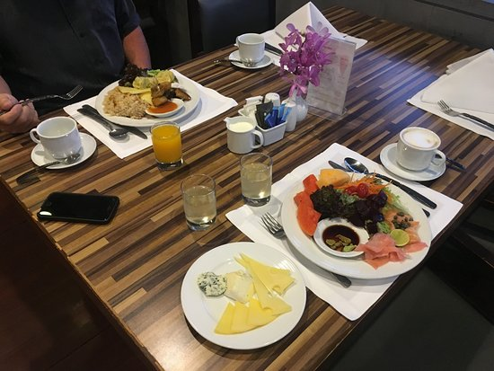 Majestic Grande Hotel : Breakfast from buffet