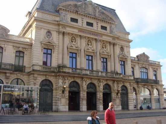 Cherbourg-Octeville, France: View of Theatre