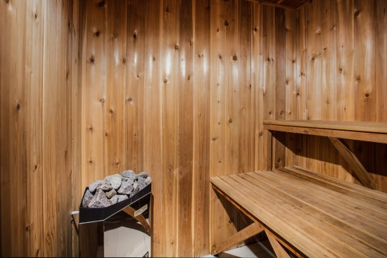 Jackson's Point, Canadá: Sauna
