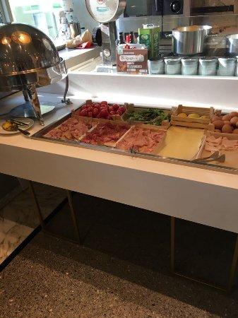 Hotel Villa Rosa Riviera : Colazione a buffet, favolosa!
