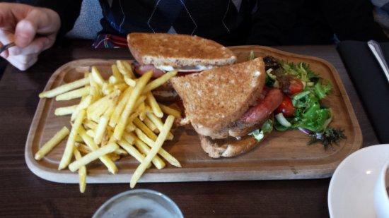 Bowmore, UK: Delicious sandwich!