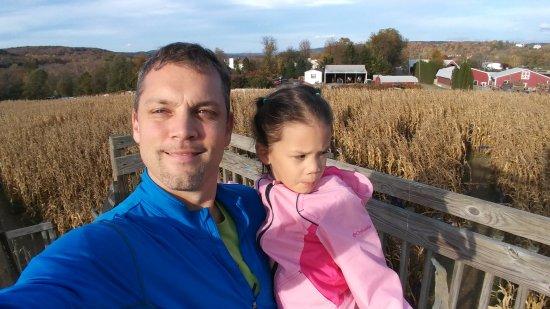 Poughquag, Estado de Nueva York: corn maze