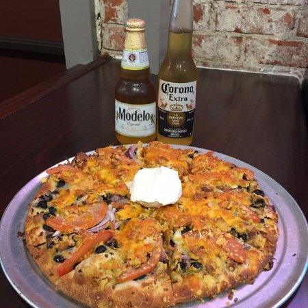 Ojai, CA: Celebrating Cinco De Mayo with our Mexican Pizza