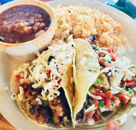 Port Isabel, TX: The Blackened Fish tacos are one of my fav dishes!