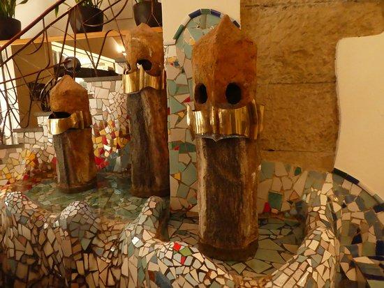Hotel Gaudi: Foyer