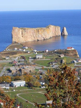 Perce, Canadá: Rocher Percé vu du Mont St-Anne