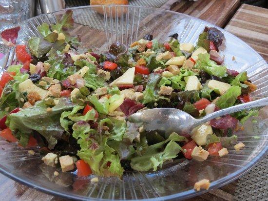 Vivario, ฝรั่งเศส: Salade montagnarde