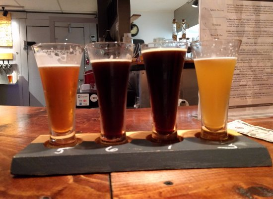 Pitman, NJ: Start off with a flight of beers after a tour of the brewery!