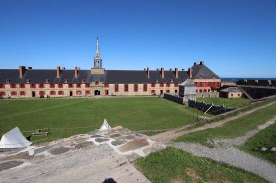 Le site historique national de la Forteresse de Louisbourg : The beautiful fortress