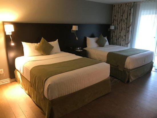 Sainte-Marthe, Canada: Chambre deux grands lits