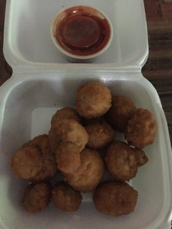 Mebane, Carolina del Norte: fried mushrooms
