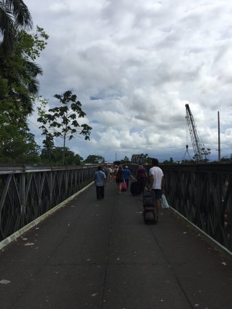 Sixaola, Costa Rica : Checkpoint in CR and Panama