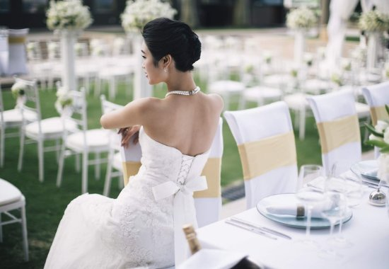 JW Marriott Hotel Shenzhen: Terrace - Outdoor Wedding