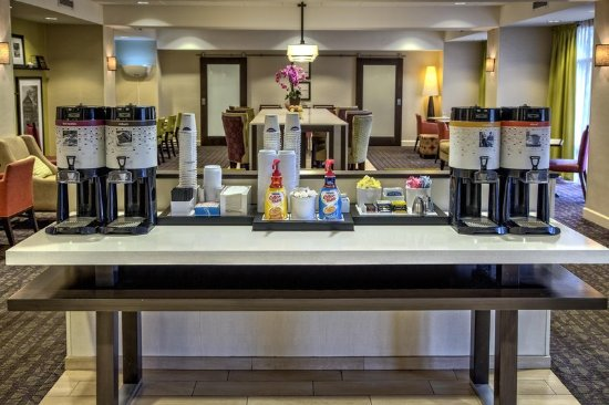 Dunn, Carolina del Norte: Coffee Station