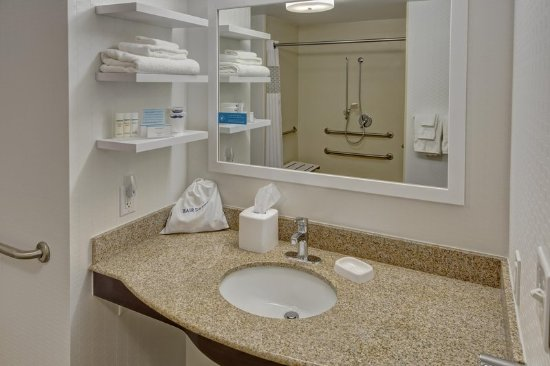 Dunn, Carolina del Norte: Accessible Bathroom